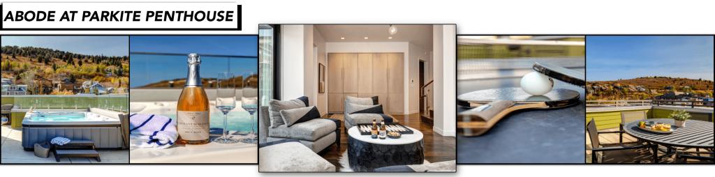 Abode at Parkite Penthouse, Main Street, Apres Rooftop