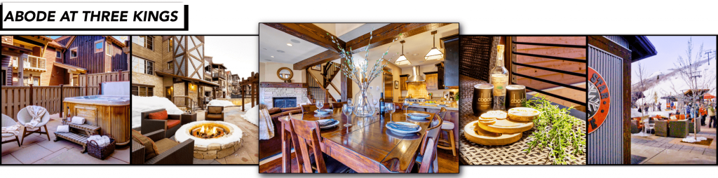 Abode at Three Kings Silver Star, Park City Utah, Apres Ski, ski in/ski out vacation rental
